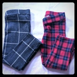2 pair bundle of Janie and Jack pants.